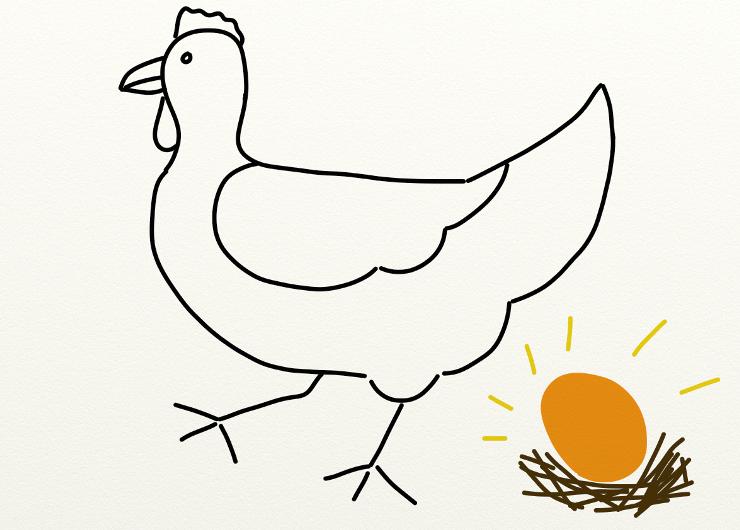 La poule aux oeufs d'or