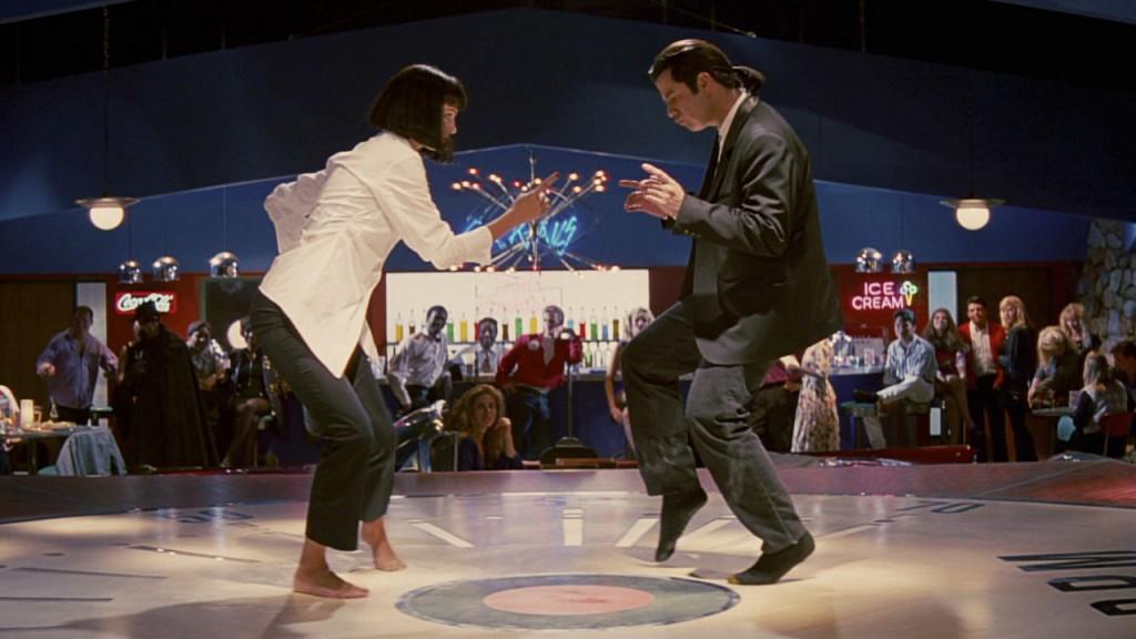 Scène épique du film Pulp Fiction