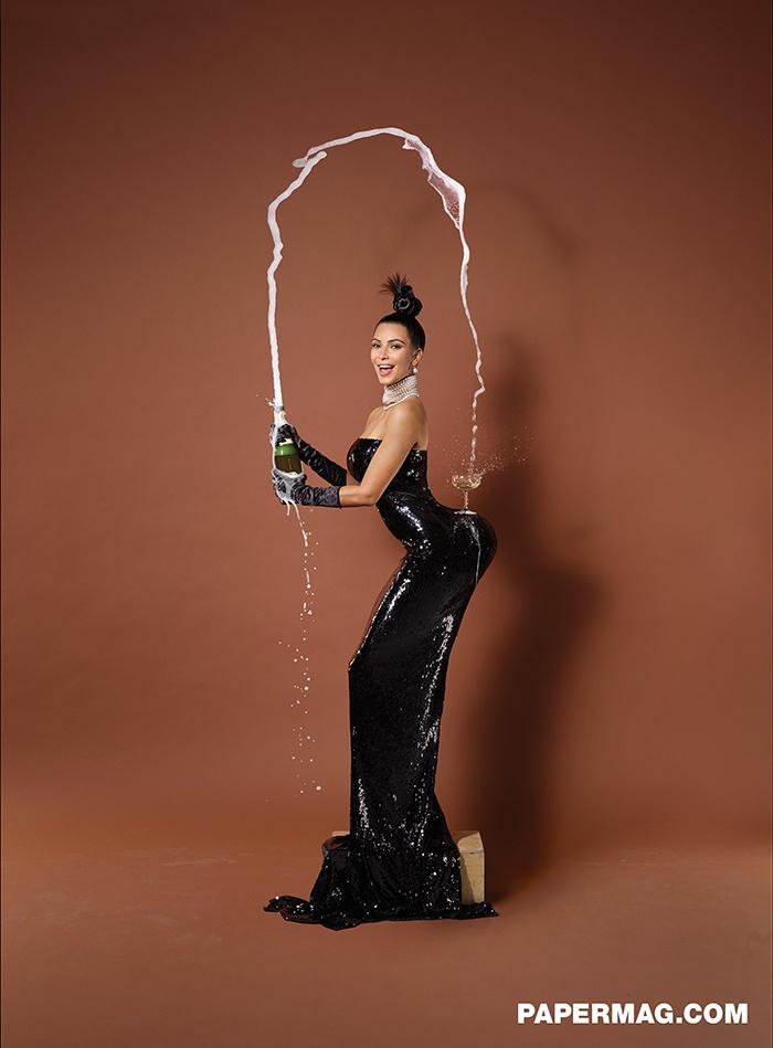 Je dois le reconnaître: kim kardashian arrive à attirer l'attention du net avec son cul. Chapeau bas.